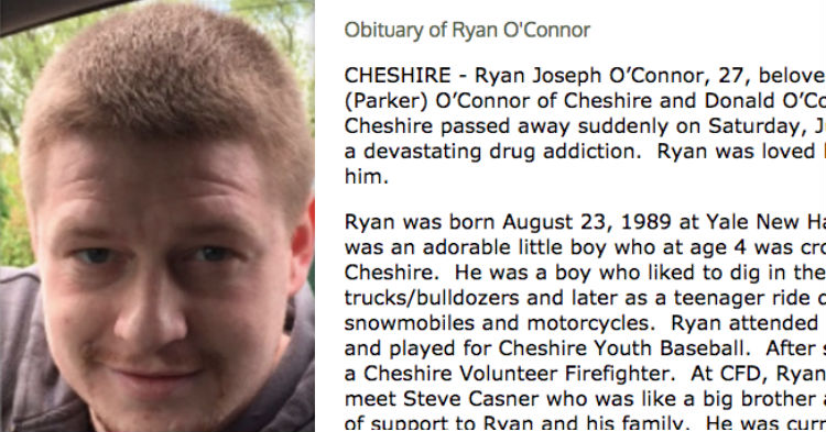 Family Doesn't Sugar Coat Son's Obituary, Uses It In Hopes It Will Save Strangers' Lives