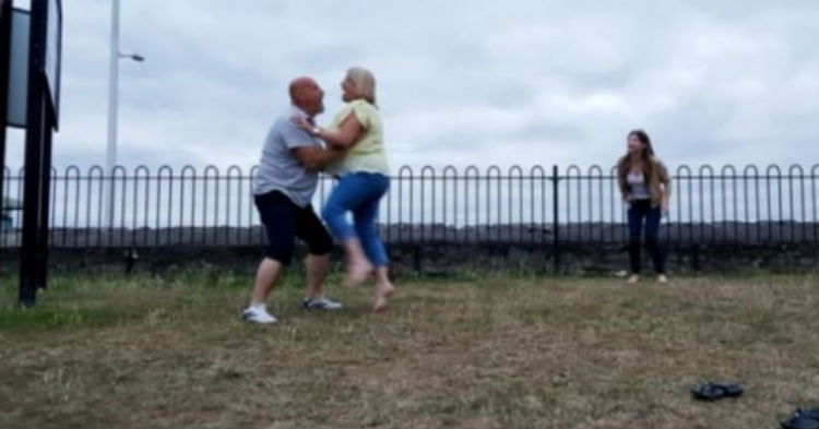 Couple Tries To Recreate 'Dirty Dancing' Lift For Wedding, Ends Worse Than Anyone Expected