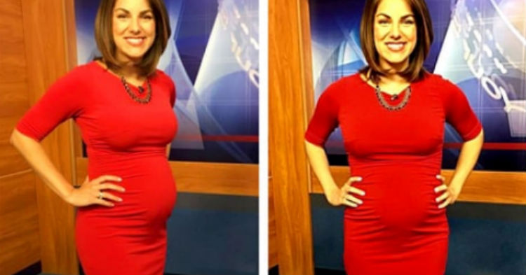 Pregnant Anchor's Response To Viewer Who Shamed Her For How She Looks Set The Internet On Fire
