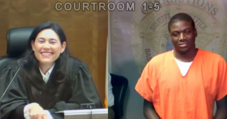 It Takes The Judge A Few Minutes, But She Finally Remembers Where She Knows Defendant From