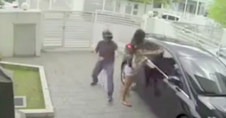 Thieves Think They Found An Easy Target, Find Out Painfully She's A Trained Fighter (video)