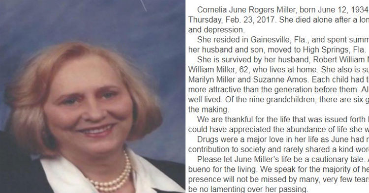 Obituary For Mom Is Far From Ordinary And It's Quickly Gaining National Attention (photos)