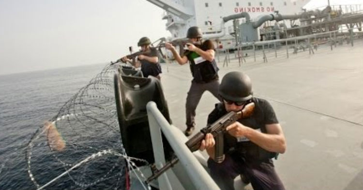 Somali Pirates Think Ship Is An Easy Target, Have No Idea Snipers Are Waiting For Them