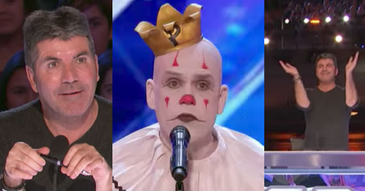 Everyone Dismissed Strange Clown Before He Even Started. But By The End? A Standing Ovation