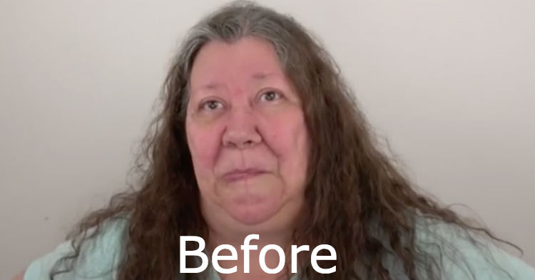 Grandma Down On Her Luck, Wins A Free Makeover. Has Transformation You Have To See To Believe