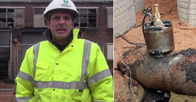 Construction Halts And Police Evacuate City After Digging Crew Finds Peculiar Object