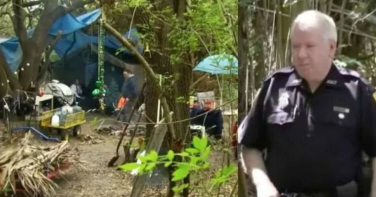 After 22 Years Of Keeping It A Secret, Cops Find What Couple Has Been Hiding Deep In The Woods