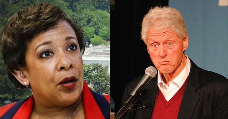 Documents On Lynch's Shady Meeting With Clinton Have Finally Been Leaked, See It While You Can