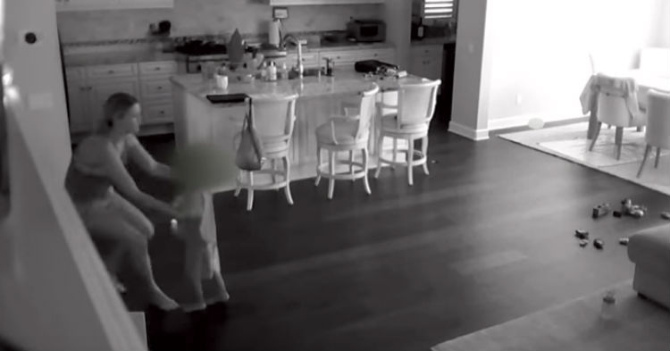 It Wasn't Until Nanny Cam Footage Was Reviewed, Family Sees Just How Lucky They Are To be Alive