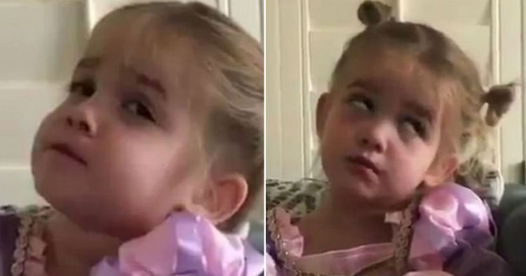 Mom Asks Toddler About Her First Day Of School, Her Response Has Me Rolling On The Floor