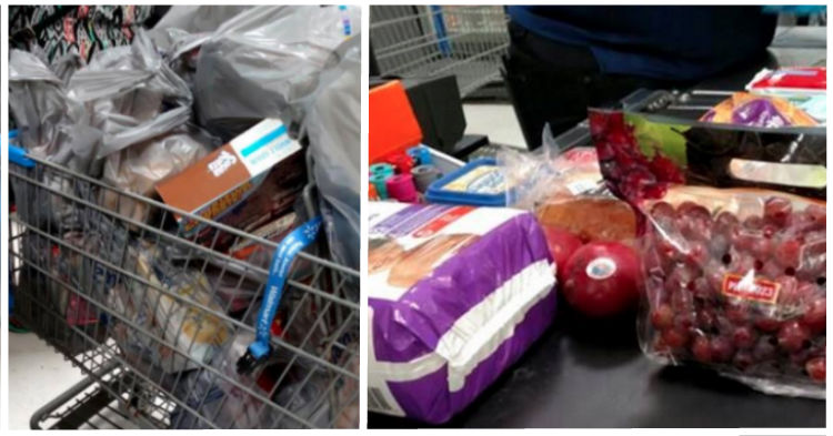 He Couldn't Believe How Much More Food The Person Behind Him Was Buying With Food Stamps