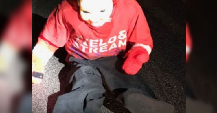 Mom Slams On Her Brakes When She Sees Child In Road, Runs For Her Life After A Closer Look