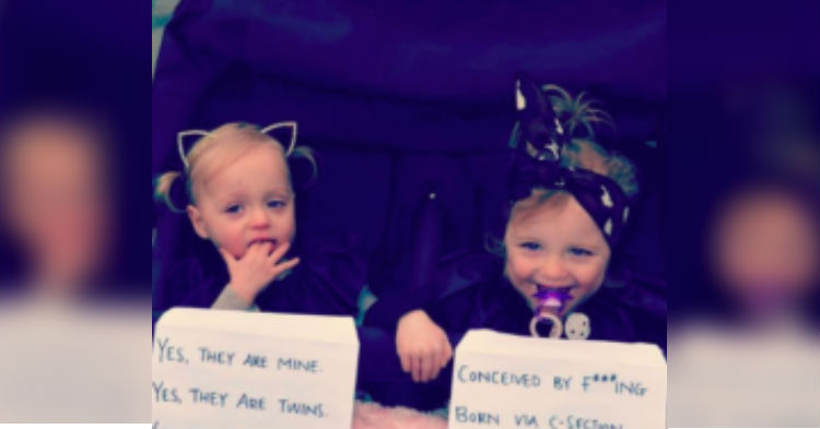 Mom Is Fed Up With Strangers Always Bugging Her With Rude Questions, Posts Note On Stroller