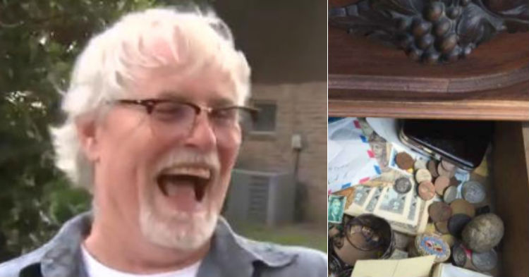 Guy Buys Old Dresser For $100, Finds Historic Treasure Seller Had No Clue They Had