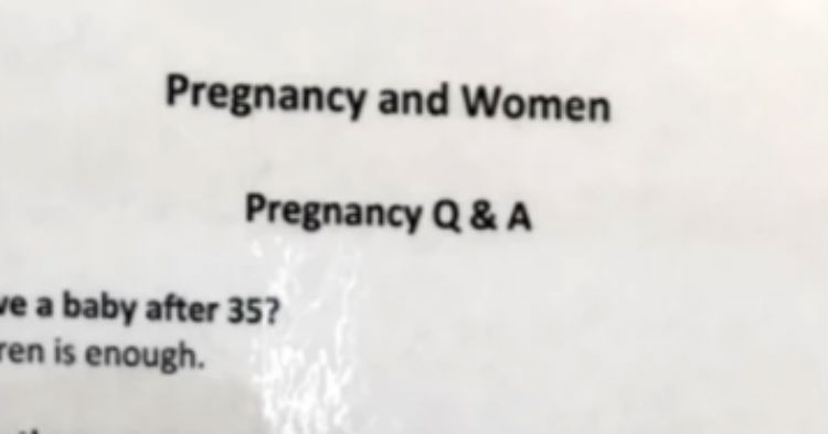 OBGYN Office Posts FAQ Questions And Answers About Pregnancy, Goes Viral Immediately