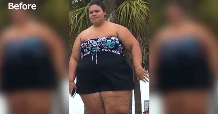 320-Pound Woman Changes Two Small Habits, Loses 170 Pounds; Looks Unrecognizable