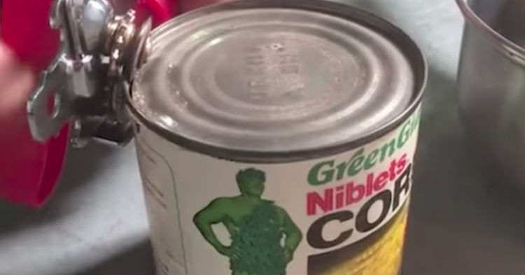 Food Bank Gets Donation, Realizes Can Is 35-Years-Old; Decides To Open It And Film What's Inside