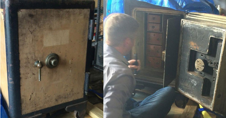 Locksmith Is Tasked To Open One Of The Most Secure Safes In History, Shares Photos Of What's Inside