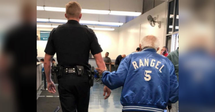Bank Boots Elderly Man, 92, To The Curb; Cop Takes Swift Action
