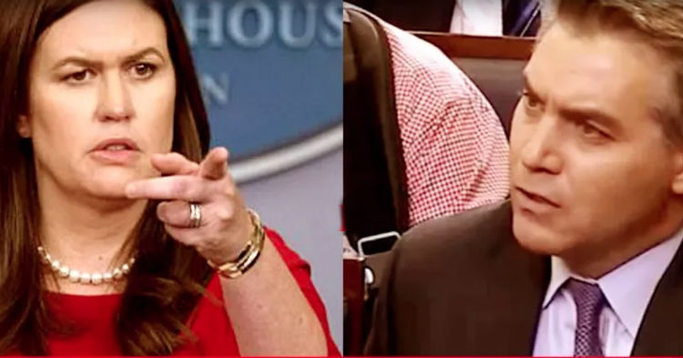 CNN Reporter Asks Inappropriate Question At White House Briefing, Huckabee Responds Accordingly