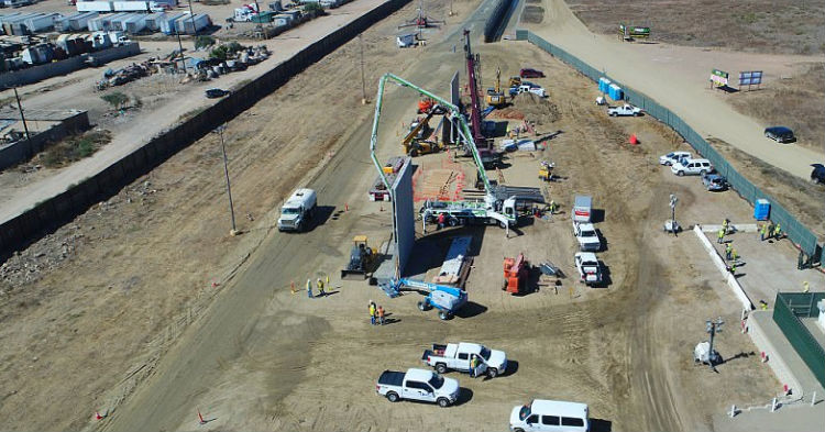 Drone Footage Is Finally Released, Shows What The New Mexican Border Wall Will Look Like