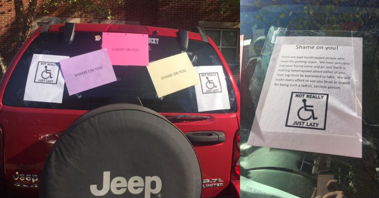 Cancer Patient Finds Car Vandalized, Terrible Letter Taped To Window; Culprit Pays The Price