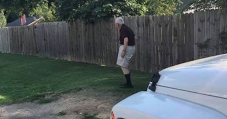 Man Pulls Car Abruptly Over, Wife Realize What's Happening; Grabs Her Camera