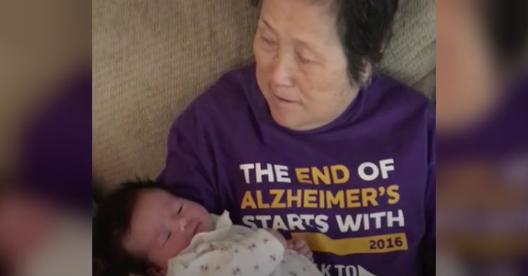 Daughter Films What She Says The One Positive Thing About Her Mom's Alzheimer's Is (video)