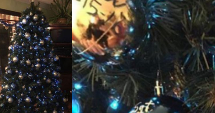 Police Accidentally Enter The Wrong House, See Christmas Tree And Know It Was God's Plan