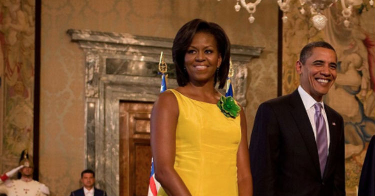 Michelle Obama Makes Public Appearance To Make A New Demand