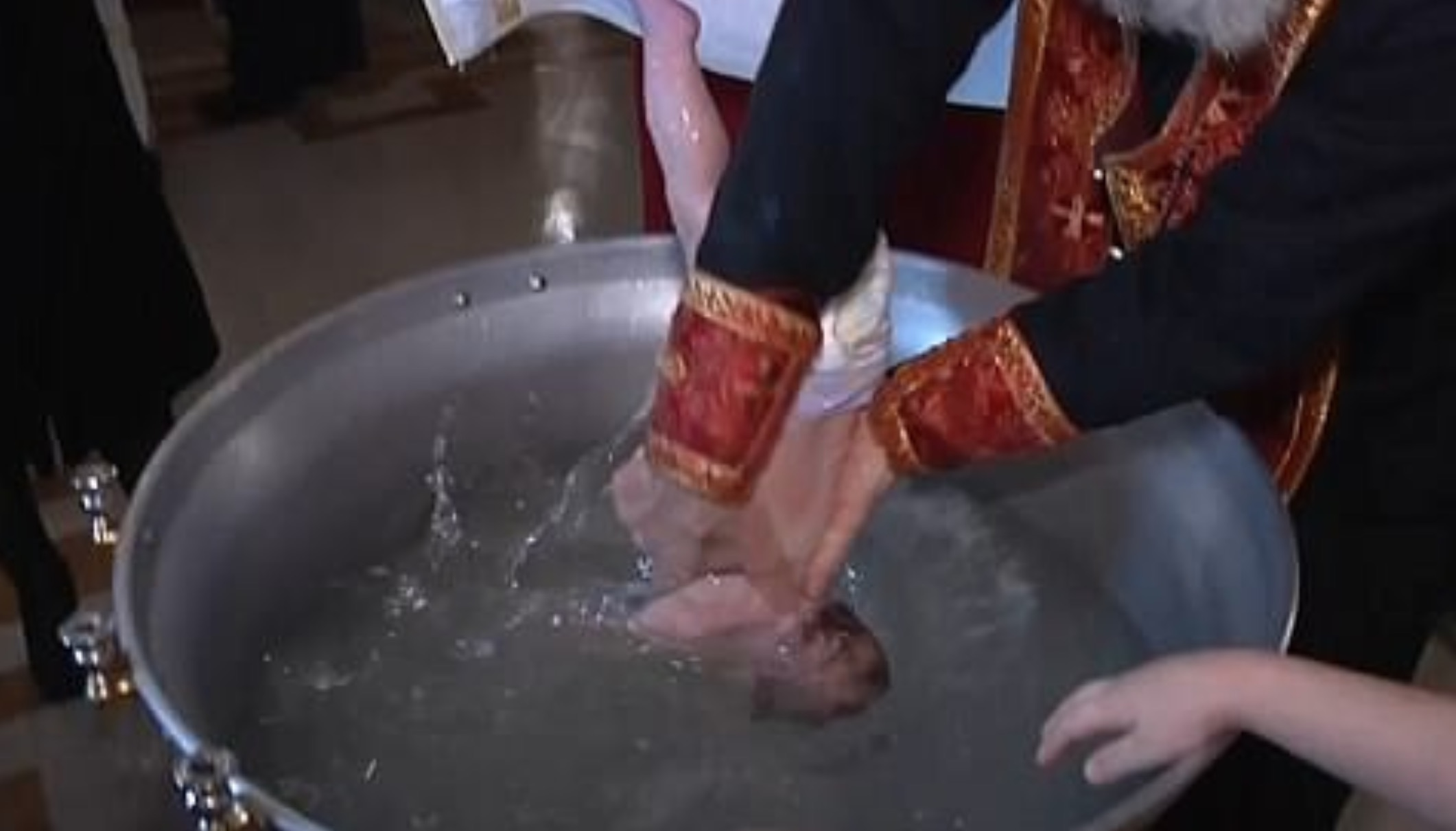 When The Bishop Started His Baptism Routine Everyone In The Church Held Their Breath