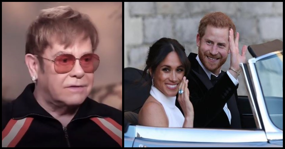 This Is The Request Prince Harry Had For Elton John, But He Didn't Want Anyone To Know