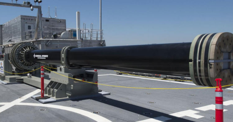 New High Tech Railgun Promises To Erase ISIS From Planet Earth, Watch It In Action (video)
